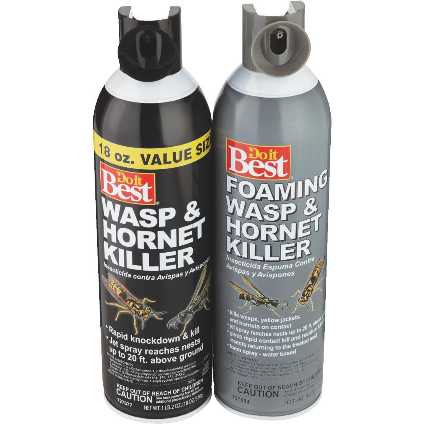 Do it Best 15 Oz. Foaming Aerosol Spray Wasp & Hornet Killer Image 5